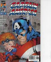 CAPTAIN AMERICA #8 MARVEL COMICS 1997 BAGGED AND BOARDED