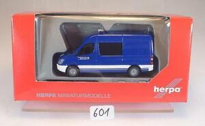 Herpa 1/87 Nr.090001 Mercedes Benz 06 Halbbus THW OVP #601