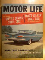 Motor Life Magazine January 1959 Chevy Ford Small Car Rambler