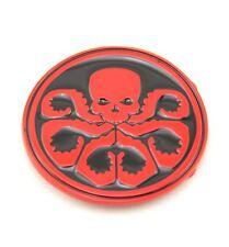 Hydra Red Skull Metal Fashion Belt Buckle