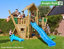 Parco gioco MANSION-BOAT per uso privato torretta con modulo boat Jungle Gym