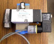 VALBIA MOD.DA 32 BS PNUEMATIC AIR ACTUATOR and  Bonomi NMR1 Solenoid Valve