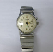 Rare Early! Vintage Vulcain Cricket 17 Jewels Men's Watch- with alarm