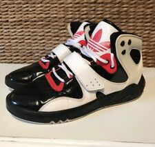 Adidas Mens Size 6.5 Black Red White Retro Hi-Top Sneakers Shoes G47784