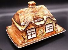 Vintage Price Bros COTTAGE WARE Butter Dish / Cheese Dish House Collectable