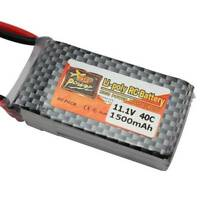 ZOP 11.1V 1500mAh 40C MAX 60C T Plug Lipo Battery For RC Helicopter Plane car