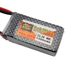 ZOP 11.1V 1500mAh 40C 3S T Plug Lipo Li-poly RC Battery For Helicopter Plane car