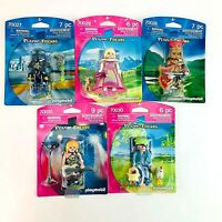 Playmobil Toy Figures Friends Princess Farmer Rockstar Space Agent Knight Pirate