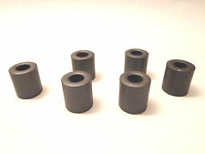 New (Lot of 6) Palomar Choke F-240 Slip on Ferrite Bead 1.1""