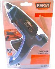 FERM Heißklebepistole Glue Gun 70W blau Klebe Pistole Elektro Klebepistole