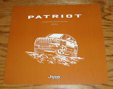 Original 2016 Jeep Patriot Deluxe Sales Brochure 16 Altitude Latitude Sport SE