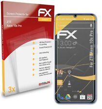 atFoliX 3x Screen Protection Film for ZTE Axon 10s Pro matt&shockproof