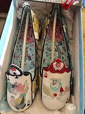 Irregular Choice Alice In Wonderland Mad Hatter White Rabbit Shoes Size 8 (38)