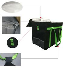 "Strong Food Delivery Bag 17.5""x13.5""x12"" for Takeaway Kebab Indian Chinese Pizza"