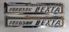 Fordson Dexta New Performance TRACTOR Bonnet Decal Kit
