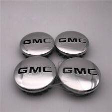 "4pcs Custom Wheel Center Hub Caps 83mm 3.25"" For GMC Sierra Yukon Denali 2014-19"
