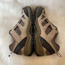 LL Bean Tek 2.5 Low Men's Size 10.5 Trail Hiking Shoes Brown Black Waterproof
