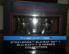 Blade Runner 2049 Steelbook 3D + 2 Whiskey Gläser NEU