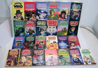 Original TARGET Doctor Who Episode Paperback Book Collection-Your Choice of 150+