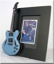 DAVE GROHL  Miniature Guitar Frame Foo Fighters