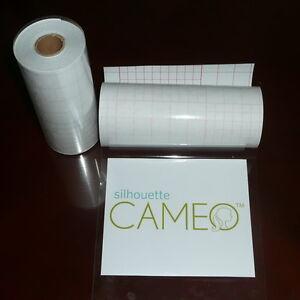 "12"" x 50 FT Roll Medium Tack Clear Application Transfer Tape for Craft Vinyl"