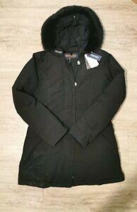 Woolrich Luxury Arctic Damen Parka Schwarz Größe M 849€ Echtpelz
