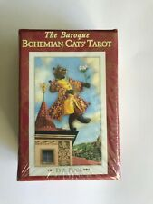 OOP MINI Tarot of The Baroque Bohemian Cats Tarot. RARE Deck, Card - NEW Sealed