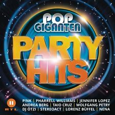 POP GIGANTEN PARTY HITS (Rosenberg, Marianne, Münchener Freiheit)  2 CD NEU