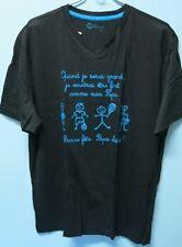 U96:New Tour Simplement V-Neck T-Shirt for Men-Large