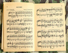 lot of 2 Soviet songs with notes and lyrics songbooks
