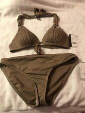 Kenneth Cole Ladies Bikini 2 Piece Top 32B/C Bottom Large