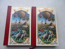 Jules Verne - 5 Semaines en Ballon tomes 1 & 2 - Editions Famot