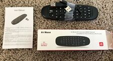 Air Mouse w/Gyroscope QWERTY Keyboard Wireless 2.4Hz Compatible with All Devices