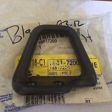 93-02 CAMARO Z28 FIREBIRD TA RH PASSENGER SEAT BELT GUIDE BLACK EBONY 16817200