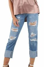 Unbranded Distressed Mid Rise Jeans for Women