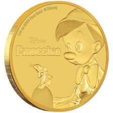 Niue 25 Dollar 2018 - Disney™ Pinocchio - Kollektion - 1/4 Oz Gold PP