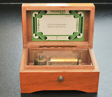 thorens vintage swiss music box 2 tunes