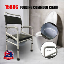Adjustable Shower Toilet Bedside Commode Chair Toilet Aid Stool with Potty O