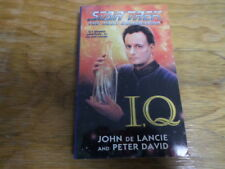 "Star Trek TNG ""IQ"" (Paperback 1999) Free Domestic Shipping"