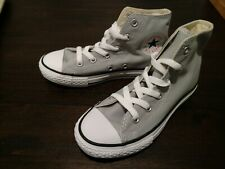 Converse Chuck Taylor All Stars Hi Sneakers Gray Youth Size 13 NEW