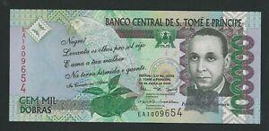 ST. THOMAS & PRINCE 100.000  DOBRAS 2005 P-69a  UNC