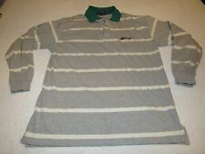 VINTAGE ABERCROMBIE & FITCH COUNTRY CLOTHES LONG SLEEVE POLO RUGBY SHIRT SIZE L