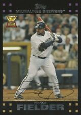 Prince Fielder 2007 Topps Baseball Rookie Cup Card #139 Milwaukee Brewers NM+/M