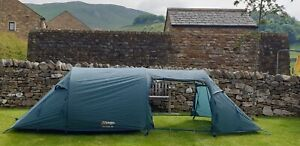 Vango Tunnel Tent Equinox 250 Motorcycle Camping Quality tent.
