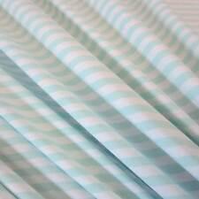 Stoff Meterware Baumwolle Jersey mint weiß Ringeljersey Streifen gestreift Neu