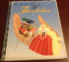 Thumbelina By Hans Christian Andersen 1981 HC A Little Golden Book Illustrated