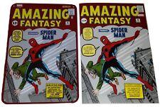Amazing Fantasy #15 Reproduction Italian Comic + Metal Plate Spiderman