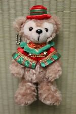 Tokyo DisneySea CHRISTMAS 2015 Duffy red hat with cloak small plush pin dangle