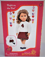 "Our Generation Right On The Dot 18/"" Doll Clothes Cheer// School Outfit"