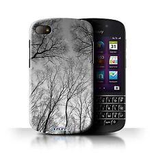 Stuff4 Back Case/cover/skin for Blackberry Q10/winter Season Grey Sky